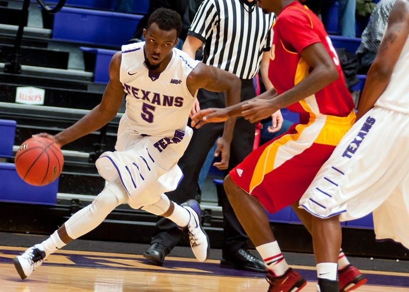 Teven Jones had two of the four final-minute free throws that helped Tarleton State secure its six-point victory over Pitt State Friday night.    Photo courtesy NATHAN BURAL/Tarleton