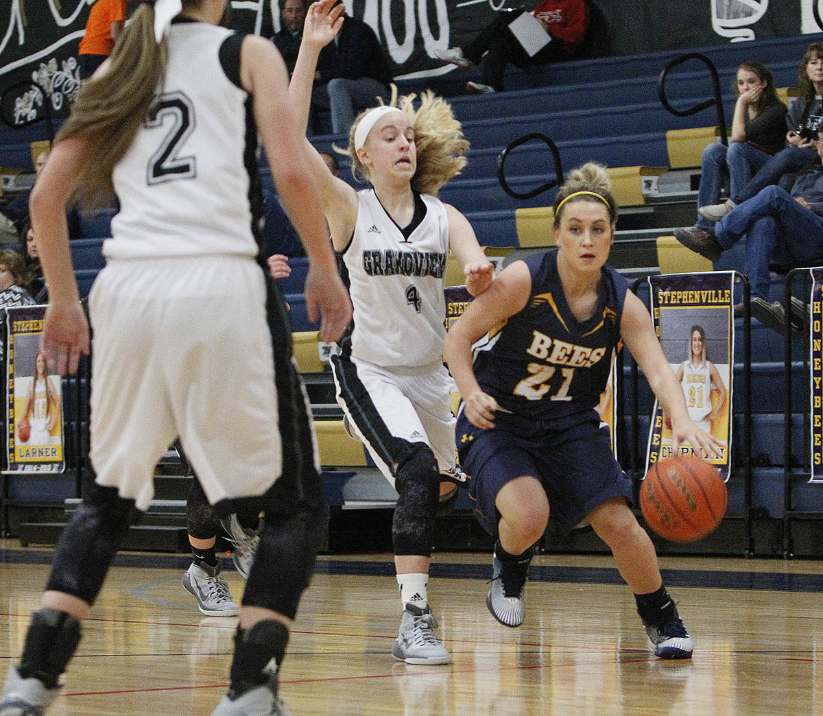 Stephenville's girls and Skylar Chipman are in the Mansfield Rotary Invitational Monday through Wednesday. || Photo by BRAD KEITH