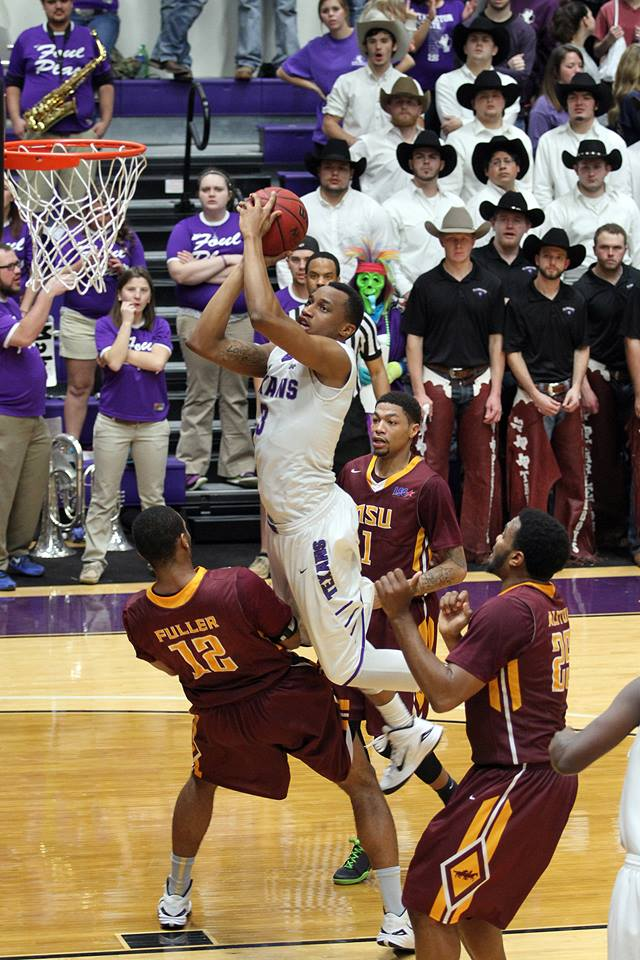 Tarleton State and EJ Reed host West Texas A&M as the tight Lone Star Conference basketball races continue Wednesday. || Photo courtesy KURT MOGONYE/Tarleton
