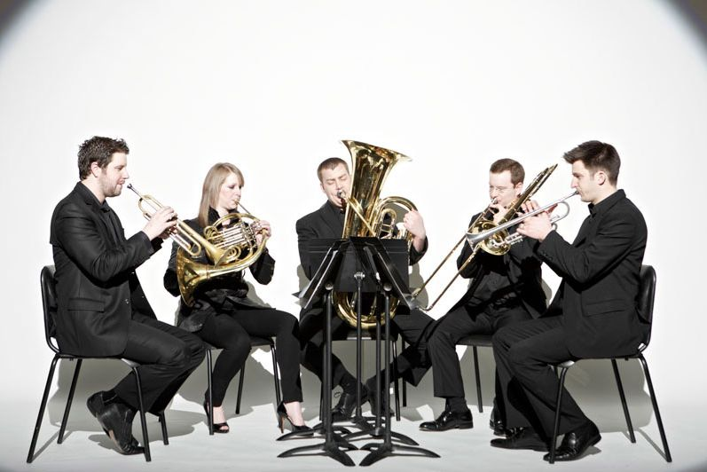 Featured guest artists at this year's Tarleton Brass Day are members of the Gaudete Brass Quintet. The group will perform in concert at 5 p.m. in the Wells Fine Arts Center auditorium.