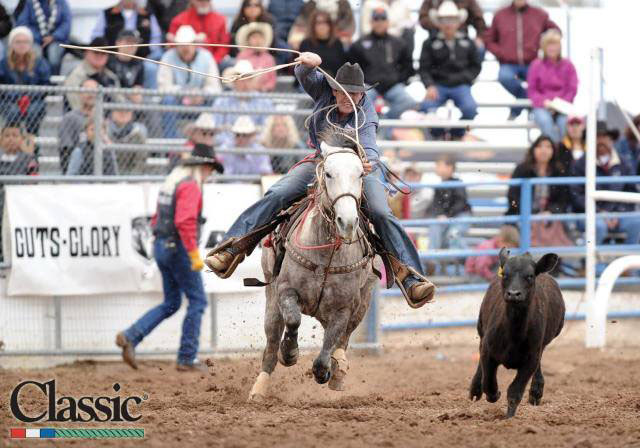 Chase Williams of Stephenville has won more than $9,600 in January and begins February with his second run at the Fort Worth Stock Show and Rodeo on Tuesday. || Photo courtesy Classic Rodeo Photography
