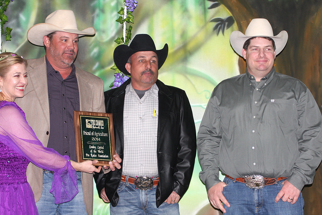 Friend to Agriculture Award winner - Cowboy Capital of the World PRA