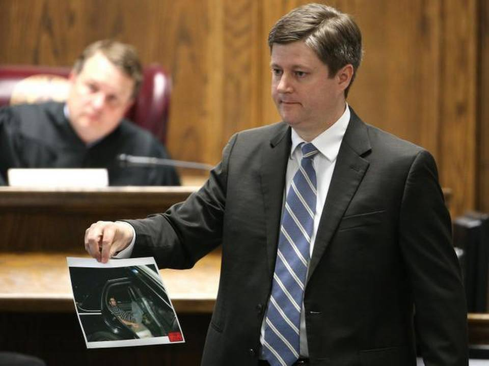 Erath County District Attorney Alan Nash presents evidence. | Pool Photo/The Dallas Morning News, Michael Ainsworth