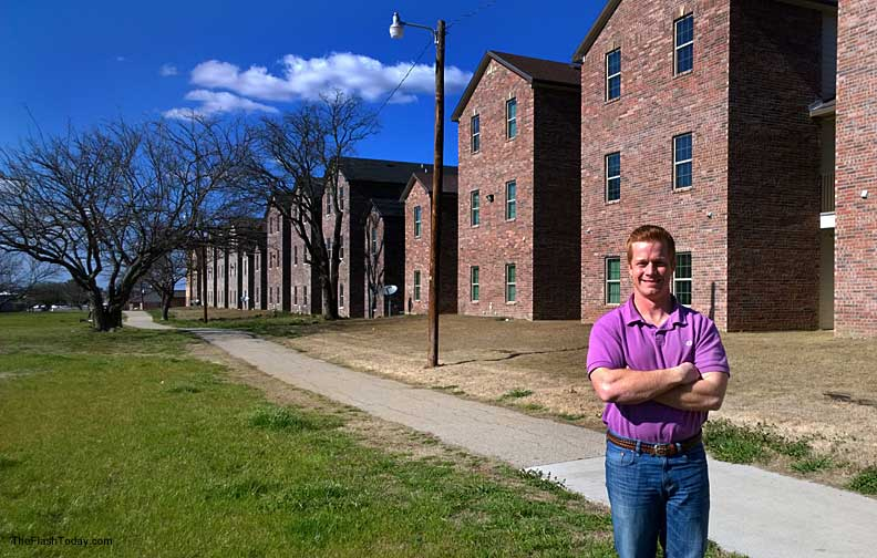 Andrew Hansen Jr.'s run for a place on the Stephenville city council is fueled by a passion for public service and a want to see his town grow.