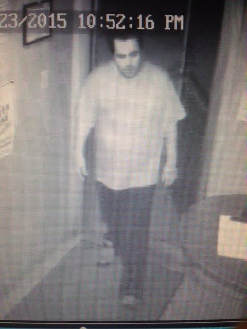 The Stephenville Police Department is seeking the public's helping locate this man in connection with an alleged rape.