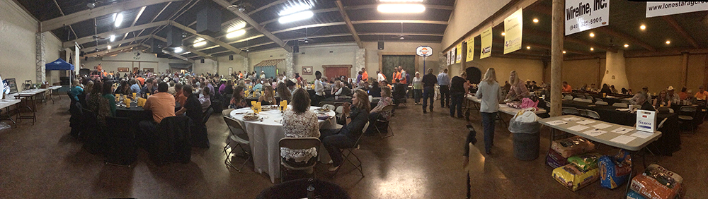 City hall was packed with patrons, sponsors and members for the 20th annual Upland Bird Extravaganza Friday evening. || BRAD KEITH/TheFlashToday.com