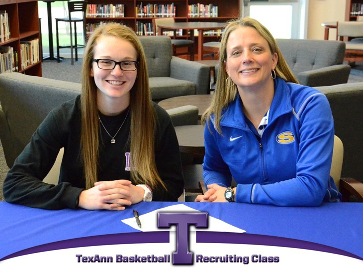 Karah Sicurella of 3A state champ Sunnyvale has signed a national letter of intent to play basketball at Tarleton State. || Courtesy Tarleton Athletic Communications