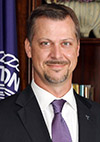 Dr. Kyle McGregor  vice president for advancement and external relations at Tarleton State University