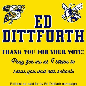 Ed Dittfurth thank you