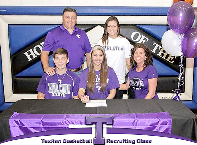 Shelby Drews of Decatur is the fifth and final member of Tarleton's 2015 women's basketball recruiting class. || Courtesy photo via Tarleton Athletic Communications