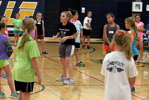 Honeybee basketball camp 21