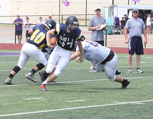 Sville-Liberty Hill scrimmage 04