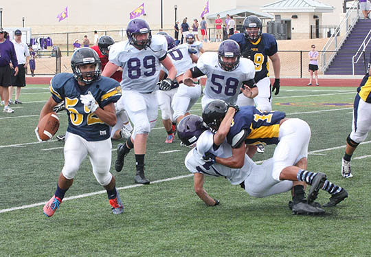 Sville-Liberty Hill scrimmage 11