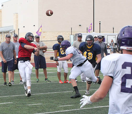 Sville-Liberty Hill scrimmage 12
