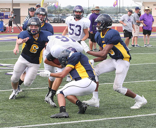 Sville-Liberty Hill scrimmage 13