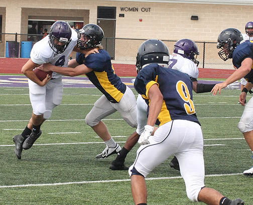 Sville-Liberty Hill scrimmage 14