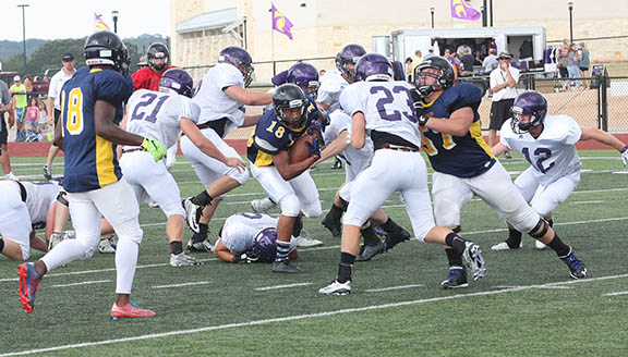 Sville-Liberty Hill scrimmage 20