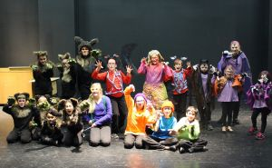 """Students enrolled in the Fall 2015 section offered by the Lil' Theatre at Tarleton presented """"We Are Monsters"""" at the conclusion of their course. Registration is now open for the Spring 2016 section, which begins Jan. 23."""