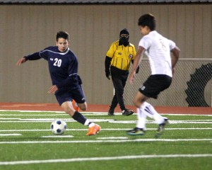 Boys Scrimmage at Everman 03
