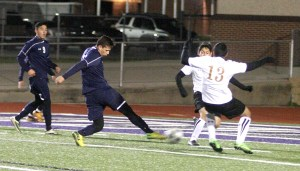Boys Scrimmage at Everman 07
