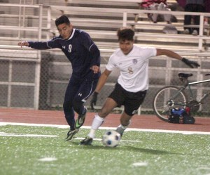 Boys Scrimmage at Everman 09