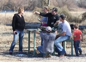 Shoting range fire 06