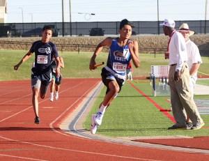 Pedro Manrriquez 4x400