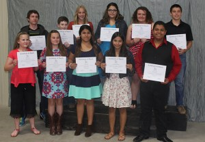 Outstanding Students JH