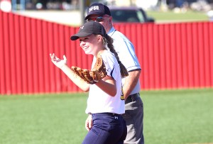 Sami Shaffer says she just loves playing softball. That's why she plays year-round with her select and high school teams.