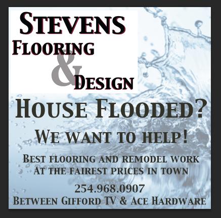 Stevens Flooring Flood Ad