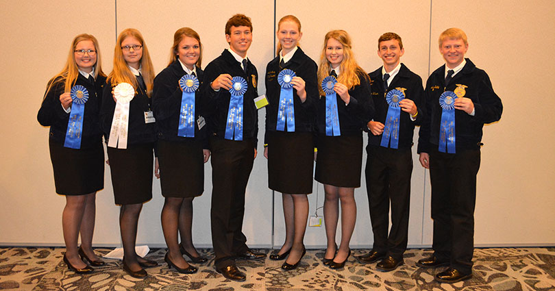 Stephenville Awarded State Titles At Ffa Convention The