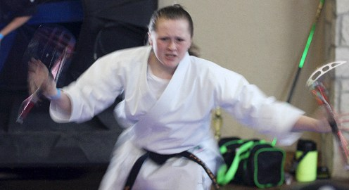 This is a demo from tournament competition at the 2016 Cowboy Capital Karate Championships. The eighth annual Stephenville tournament is Saturday, August 12, at the City Hall events facility on the grounds of City Limits Texas.    The Flash Today file photo