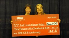 HEB Donation Humane Society