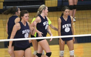 shs volleyball scrimmages 12