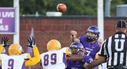 Zed Woerner has 11 touchdown passes in his last three games for Tarleton. || TheFlashToday.com photo by RUSSELL HUFFMAN
