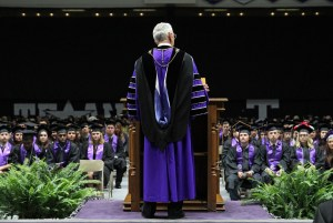 Tarleton State University will hold five Commencement ceremonies on the Stephenville campus spanning two days, Dec. 16 and 17.