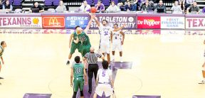 Tarleton State tipped off its 2016-17 season Friday night with an 89-59 rout of Adams State in the Whataburger Tipoff Classic at Wisdom Gym. || TheFlashToday.com photo by DAVID SWEARINGEN