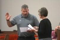 Dr. Ed Dittfurth sworn in