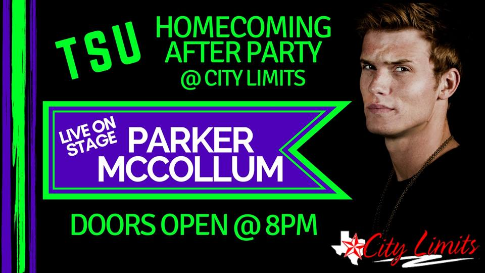 City Limits Parker McCollom Homecoming