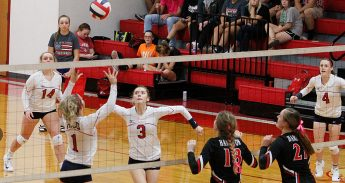 Hico is one of two local 2A teams with a bye through the opening round of the UIL state volleyball playoffs that begin in all conferences Monday and Tuesday. || The Flash Today/JESSIE HORTON