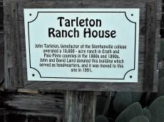 TSU Chamber Mixer 4 Tarleton Ranch House sign