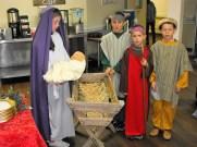 Mulberry Manor Christmas Nativity Scene