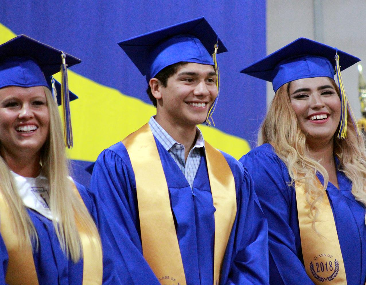 Huckabay graduation 28