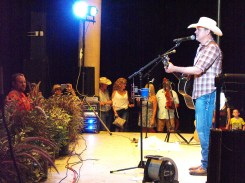 Roger Creager at Summer Nights Concert 2