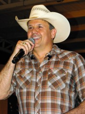 Roger Creager at Summer Nights Concert Roger Creager