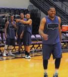 Texan Alumni Basketball game 17