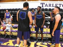 Texan Alumni Basketball game 20