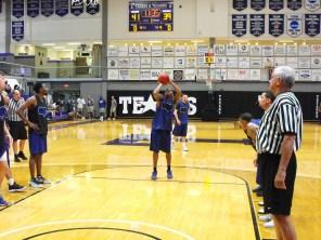 Texan Alumni Basketball game 41