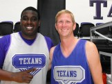 Texan Alumni Basketball game 9