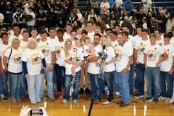Heart of Gold Pep Rally _3059
